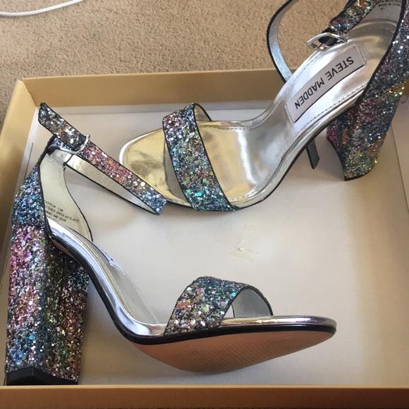 Steve Madden Sparkly Glitter Heels